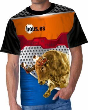 Camiseta Taurina toro bravo