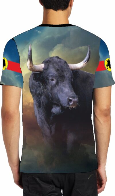 camiseta toro bravo