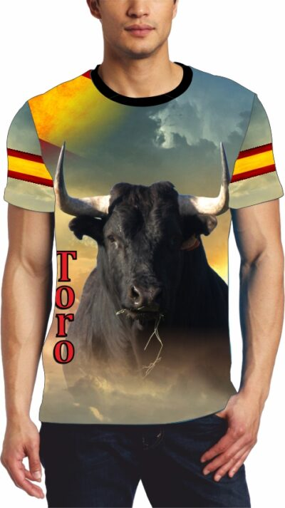 Camiseta de toros bravos