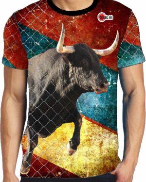 Camiseta Taurina toro negro