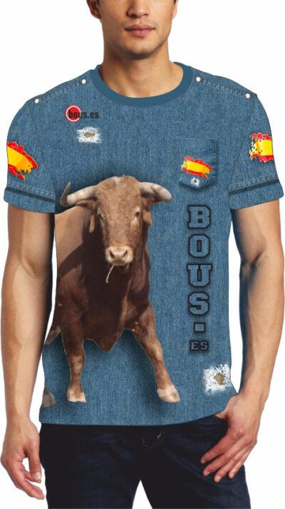 Camiseta taurina vaquera