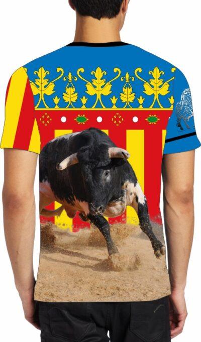 Camiseta taurina Señera Valenciana