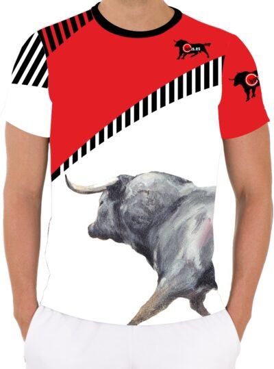 Camisetas taurinas con toros bravos