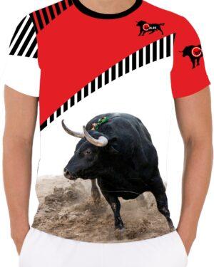 Camiseta Toro Bravo Negro
