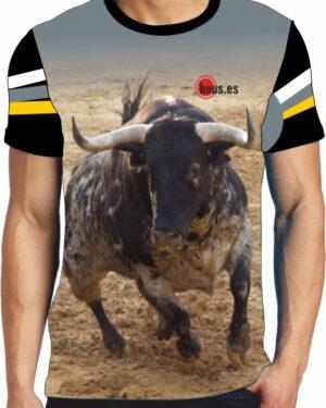 Camiseta toro cerril desencajonado