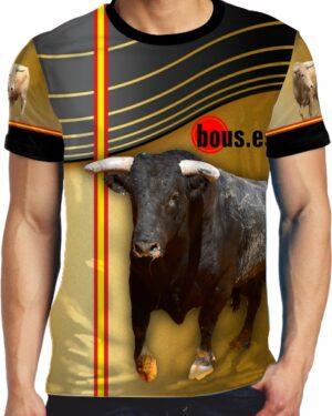 Camiseta Toro Bravo Español