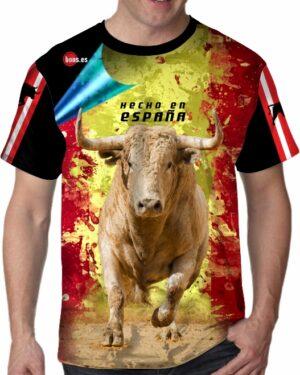 Toros en España camisetas de toros cerriles