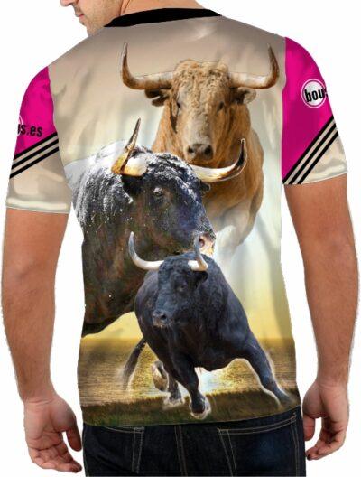 Camiseta de toros bravos trapio