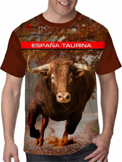 Camisetas toros por los caminos de España